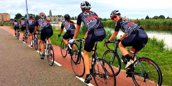 ASC Olympia - Vrouwenwielrennen in Amsterdam