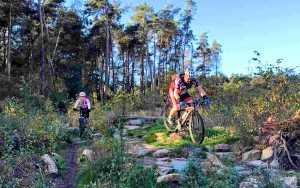 ASC Olympia - Mountainbiken: fietsbeheersing, uithoudingsvermogen en lef
