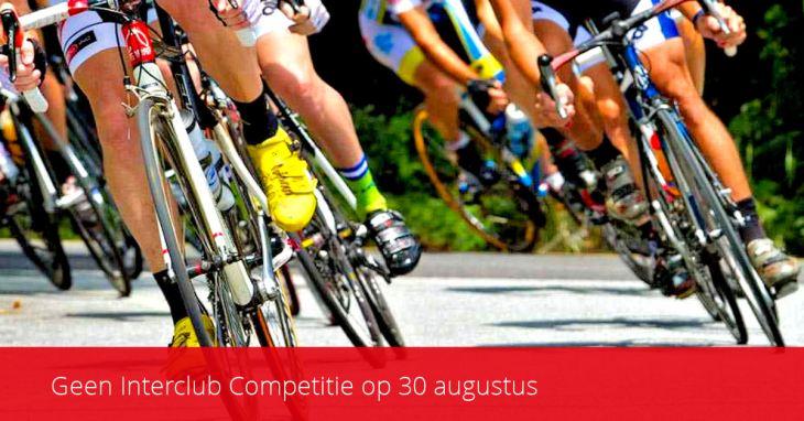 ASC Olympia - Geen Interclub Competitie op 30 augustus