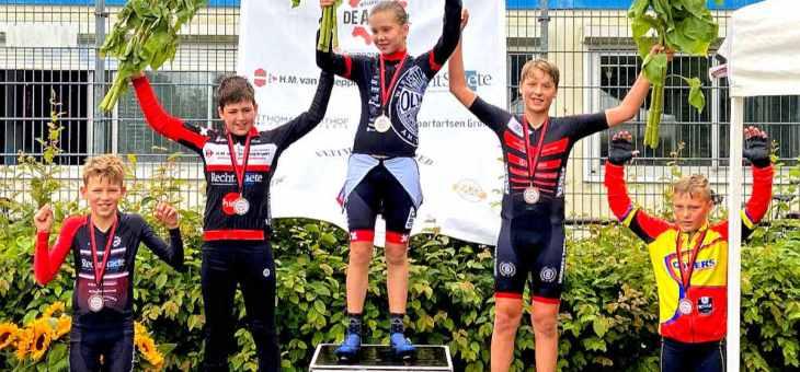 Jonge Olympianen houden huis