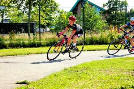 ASC Olympia - Jeugdwielrennen - Jonge Olympianen houden huis