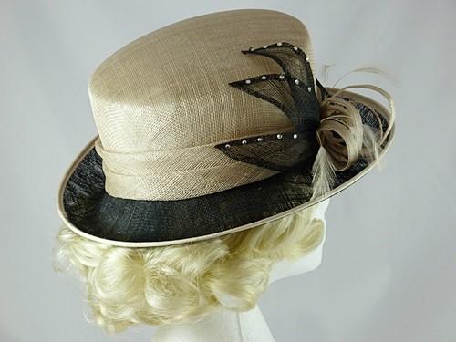 Wedding Hats 4U Hawkins Collection Petals Wedding Hat In