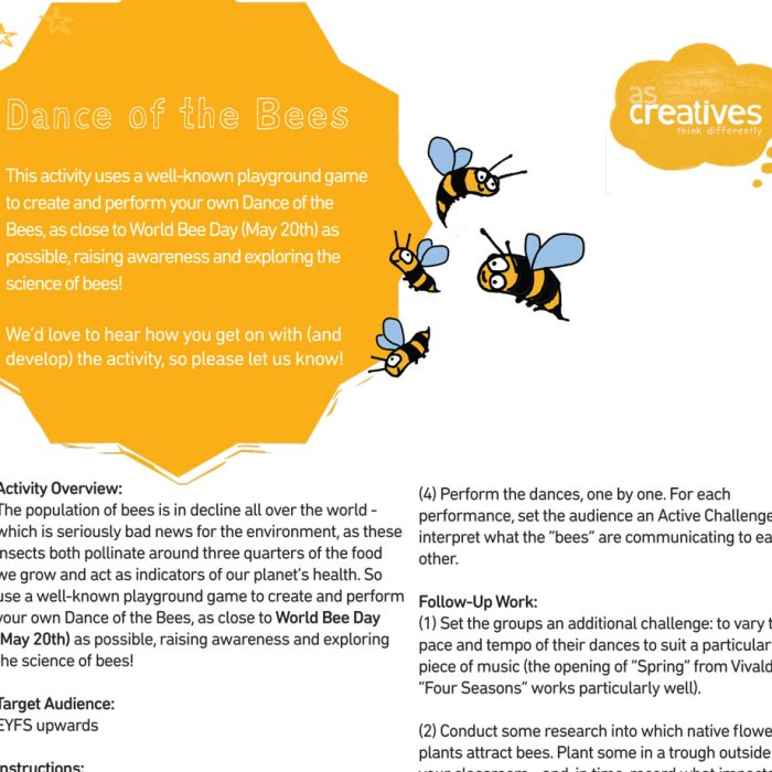 Classroom Resource: The Dance of the Bee – World Bee Day