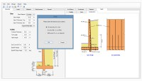 Cantilever Pile Support Retaining Wall Design Software ...