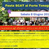 FESTA SCAT  al FORTE TENAGLIE