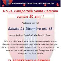 A.S.D. Polisportiva Santa Caterina compie 50 anni !
