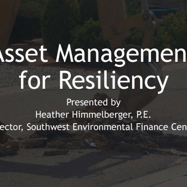 Cap Dev-Op Cert Workshop 2020: Becoming Financially Resilient through Asset Management