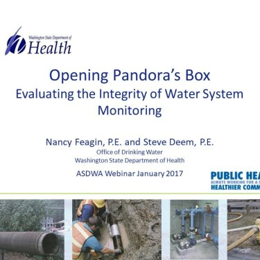 Opening Pandora's Box - Evaluating the Integrity of Water System Monitoring