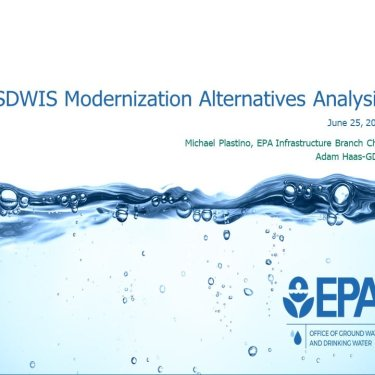 SDWIS Modernization Community Update