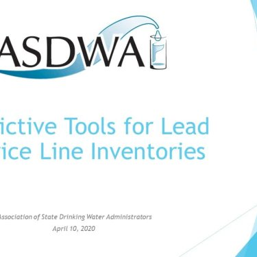 Predictive Tools for Lead Service Line Inventories