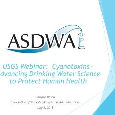 Cyanotoxins: Advancing Drinking Water Science to Protect Human Health