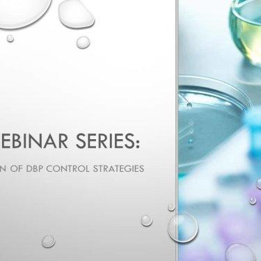 DBP Webinar Series: Implementation of DBP Control Strategies
