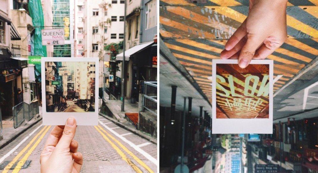 film photography polaroid Hong Kong