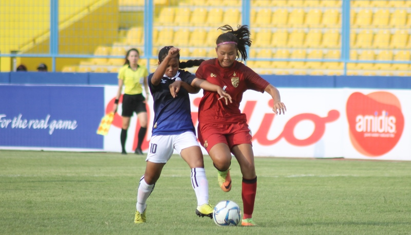 U16 Girls Laos Deny Indonesia To Join Thailand In Semi Finals