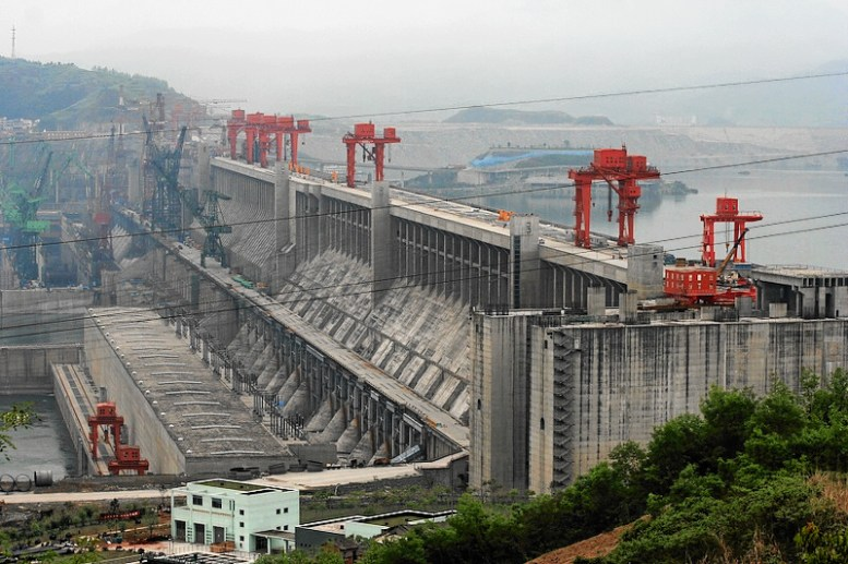 The Three Gorges Dam is the world's largest electricity-generating plant of any kind.