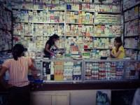 Pharmacy medication shop market stall Yangon