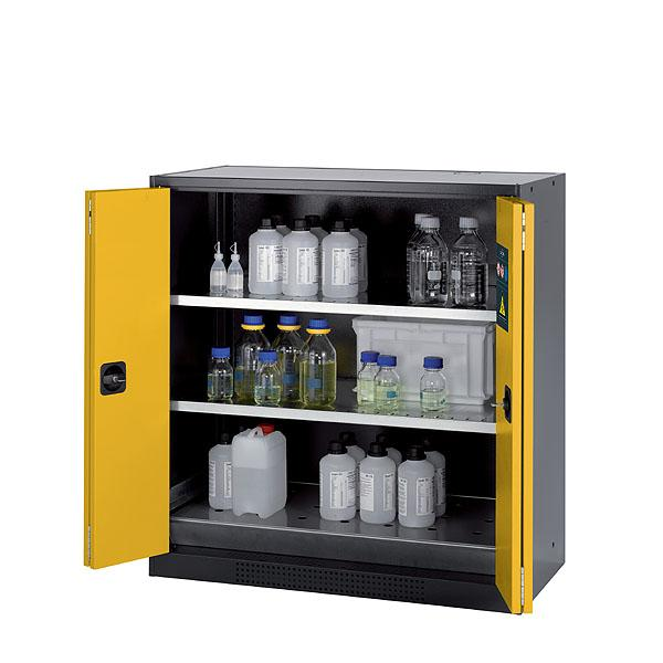 Cabinets for chemical storage