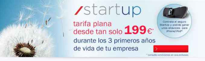 Axa Start up para empresas