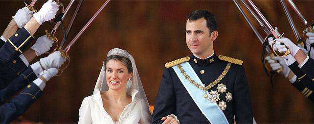 Itinerario en la proclamación de Felipe VI