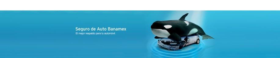 Divertida campaña del seguro ballena de Banamex