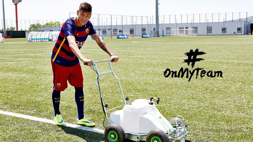 F.C Barcelona y Allianz Seguros presentan onmyteam