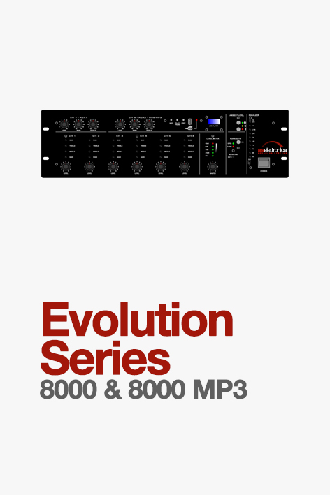 mixer evolution series 8000
