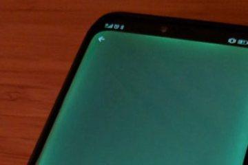 Huawei Mate 20 PRo zeleni ekran
