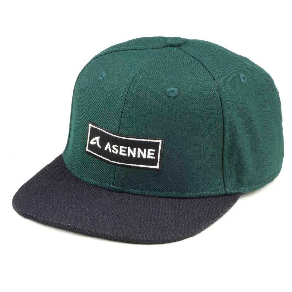 picture of green cap with Asenne logo
