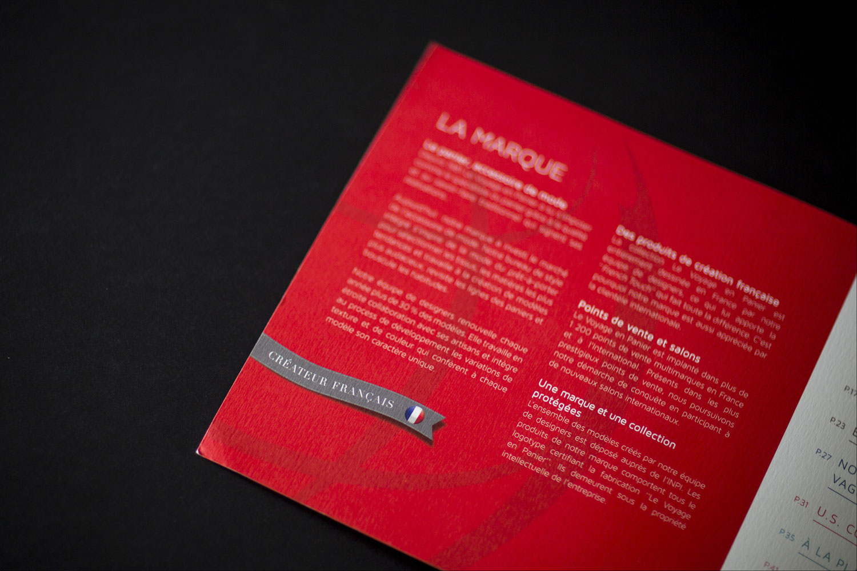 Création catalogue produits