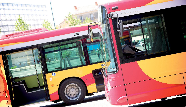 Identité visuelle du réseau de transport