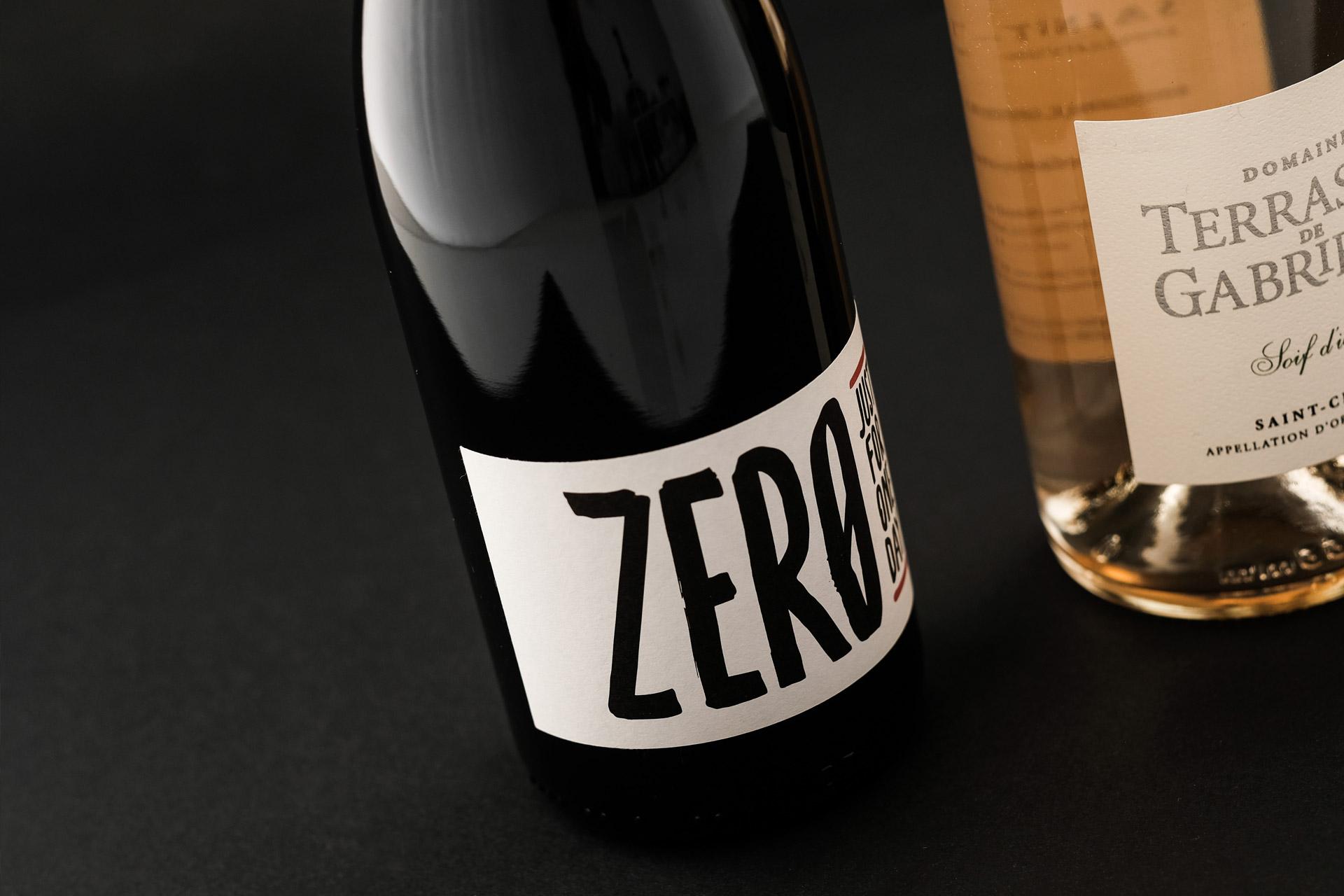 Création d'étiquette de vin