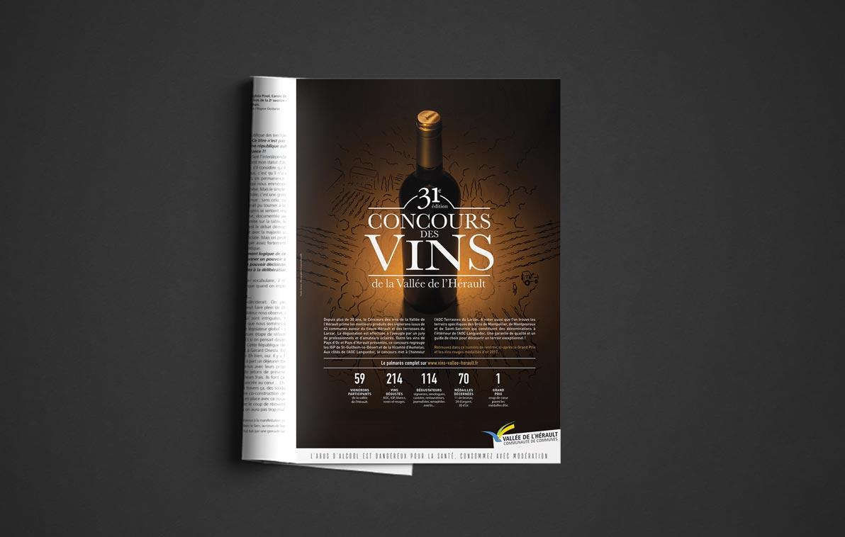 Concours des vins de la Vallée de l'Hérault