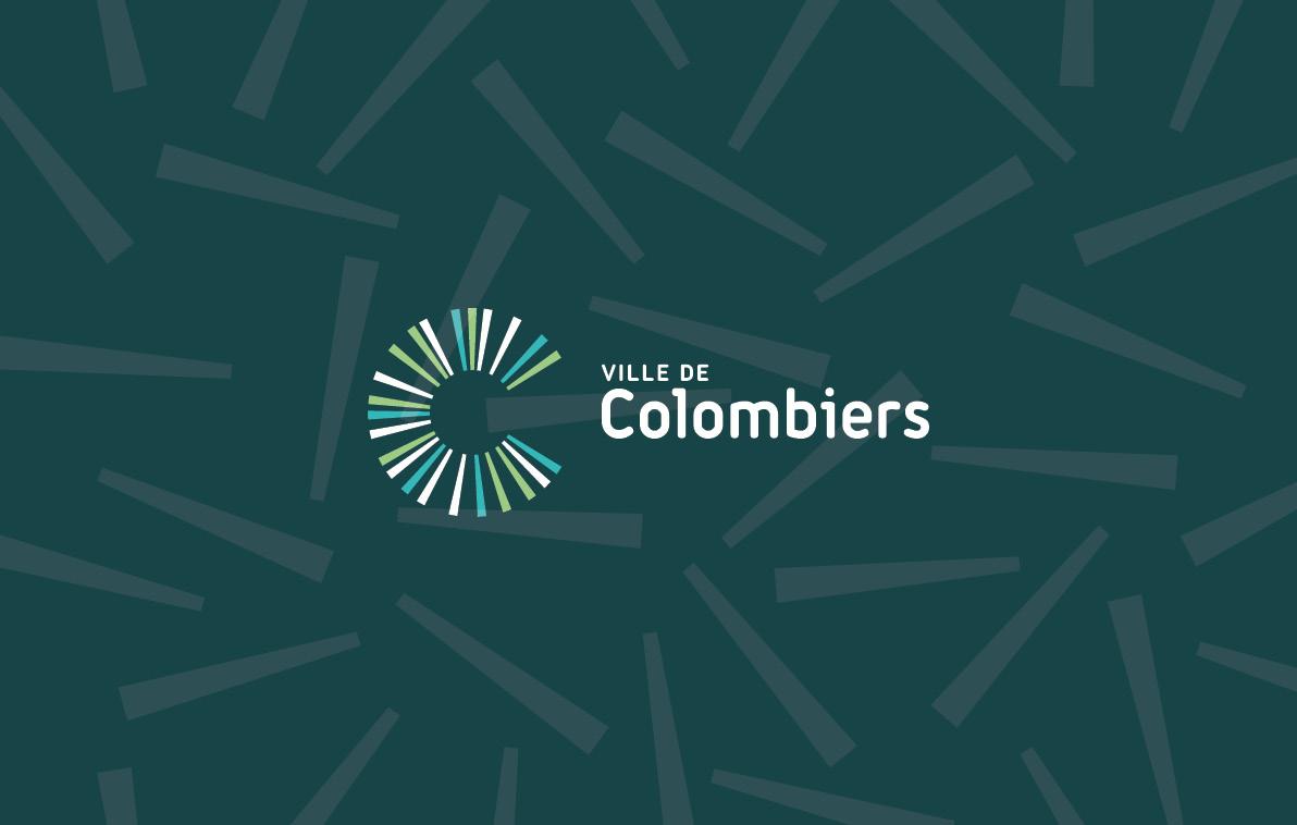 Identité visuelle ville de Colombiers
