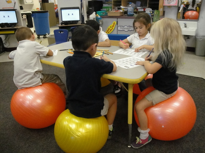 Ball Chairs in the Classroom  A Sensory Life