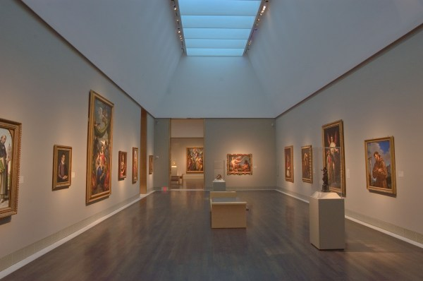588-23 Paintings In Museum Of Fine Arts. Houston Texas
