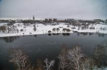 Slideshow 1149-16 Narva River Walls Of Ivan Gorod