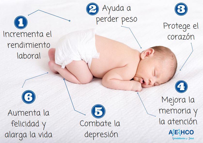 6 beneficios de dormir bien