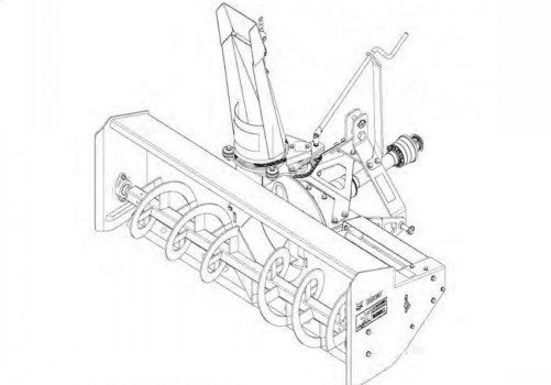 Bobcat 3SB Three-Point Snow Blower Service Repair Manual