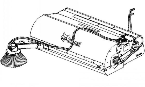 Bobcat 36 44 48 54 84 Inch Sweeper Service Repair Manual