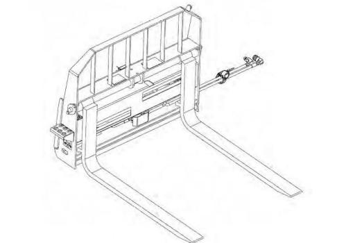 Bobcat Hydraulic Pallet Fork Service Repair Manual