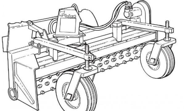 Bobcat Power Rake Service Repair Manual