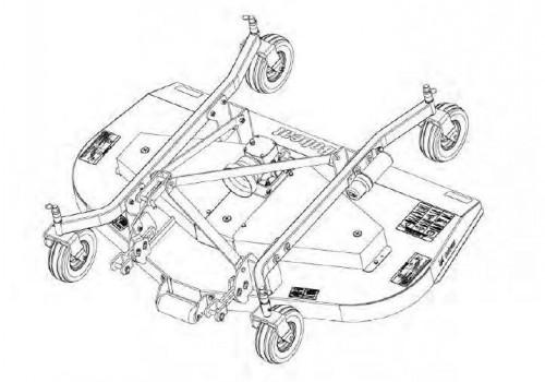 Bobcat Three-Point Finish Mower Service Repair Manual #1