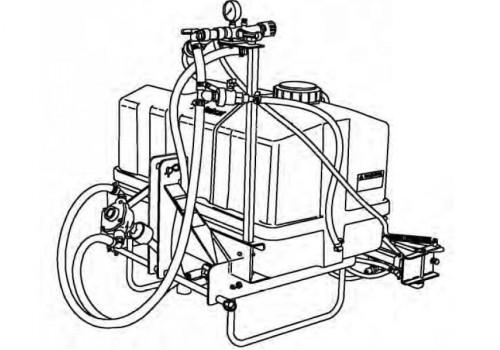 Bobcat Three-Point PTO Sprayer Service Repair Manual