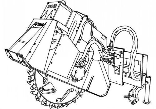Bobcat WS18 WS24 Wheel Saw Service Repair Manual