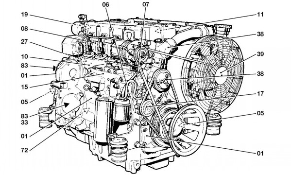 Deutz Fahr BFM 1012 1013 Engine Service Repair Manual