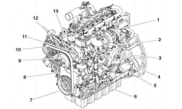 Doosan D24 DIPP Diesel Engine Service Repair Manual