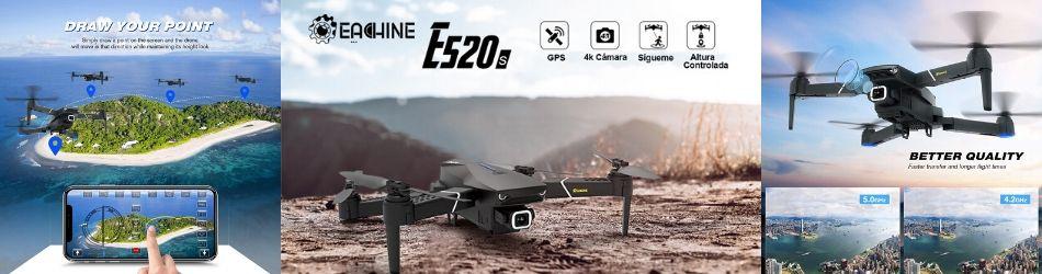 Dron eachine e520s mas informacion