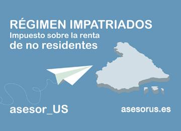 regimen impatriados no residentes