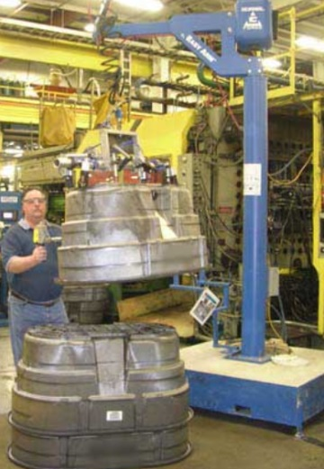 Gorbel Easy Arm Manipulators  Floor  Overhead Rail