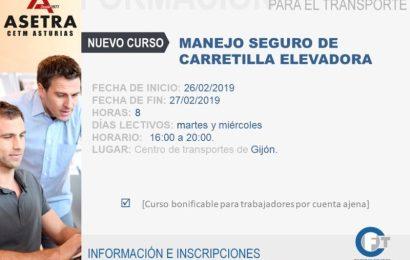Manejo Seguro de Carretilla Elevadora